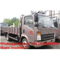 Customized SINO TRUK HOWO light duty 4*2 RHD 90hp cargo truck for Indonesia, Factory sale whole price cargo van truck Manufactures