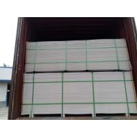 Heatproof Partition Wall Calcium Silicate Board For Eps Sandwich Panel 600*600mm Manufactures