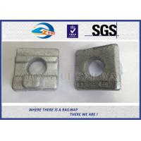 Railroad Fsatener Crane Rail Clips For North Africa , K Type KPO MTH Railway Clip Manufactures