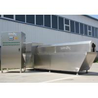 Siemens PLC Control Double Screw Extruder Machine For Snacks / Breakfast Cereal Manufactures