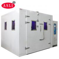Sunshine Simulation Uv / Xenon Aging Room Walk In Stability Chamber For Color Fastness Test Manufactures