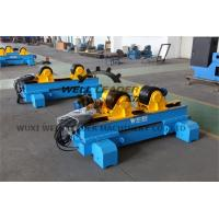 Hydraulic Self Centering Pipe Welding Rotator For Welding Tank Vessel Boiler Fabrication Manufactures