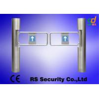 Electric Swing Barrier Gate Tubular Barrier Gates Anti-strike Auto Turnstiles Manufactures