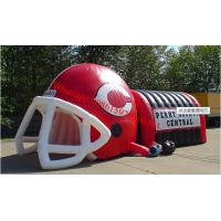 inflatable american football helmet , inflatable football helmet tunnal Manufactures
