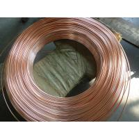 China Coppered welded steel pipe / carbon steel tube for household refrigeration system on sale
