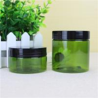 Clip Cap Cream PET Plastic Jars , 16g/ 25g Small Plastic Jars With Lids Manufactures