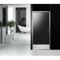 Bathroom 1000 X 1850 Pivot Shower Screen Clear Glass With Stainless Steel Handle For Manufactures