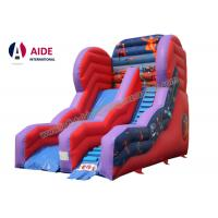 Inflatable Slide For Pool Inflatable Sports Equipment Rainbow PVC Customized Manufactures