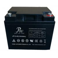 Quality Battery SLA 12V45AH Rechargeable UPS Solar Energy Storage Battery Black for sale