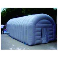 Blue Simulation Inflatable Party Tent  ,  PVC Tarpaulin Large Picnic Tent Manufactures