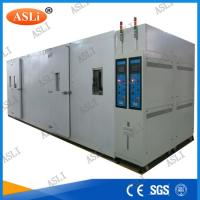 Water Cooled Walk In Stability Chamber , Humidity Range 20% ~ 98%R.H. Manufactures