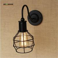 American industry wall lamps Nostalgic Vintage Iron Loft Aisle Wall Lamp For Balcony Manufactures