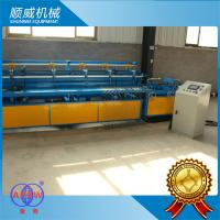 Chain Link Fence Weaving Machine / Weaving Opening  25mm - 100mm Manufactures