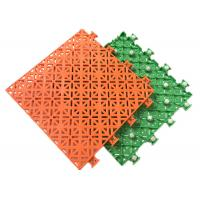 Buy cheap Wear Resisting Outdoor Sports Flooring , Non Slip Green Sports Flooring from wholesalers