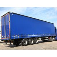 Buy cheap Customized Full Set Trailer Tarpaulin Side Curtain 900gsm Anti UV and Flame from wholesalers