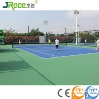 Environmental material outdoor tennis court surfaces For School / Backyard Manufactures