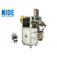 Buy cheap Rotor Insulation Paper Insertion Machine With Low Pressure Alarm Function from wholesalers