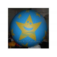 Promotional Star Printed Helium Balloons Banner Giant Advertising Inflatables Manufactures