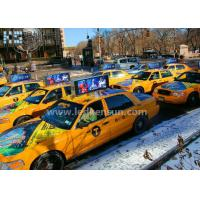 Clear Lightweight Taxi Top Car Led Sign Display For Dynamic Advertising Manufactures