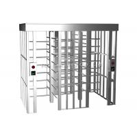 304 Stainless Steel Full Height Turnstiles Access Control Turnstile Automatic Manufactures