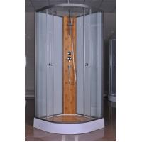 Quality Custom Quadrant Sliding Door Shower Cubicles , Curved Shower Glass Enclosure for sale