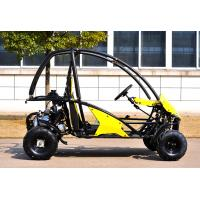 4 Wheels Gas Electric CVT Go Kart For Farm , Go Kart Kits KD 110GKT-2 Manufactures