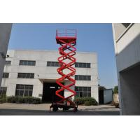 450Kg Load Hydraulic Mobile Scissor Lift Manufactures