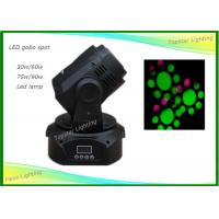 Stage Gobo Mini Spot Moving Head Light Low Power 30w White Dj Light Manufactures