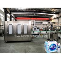 PLC Mineral Water Production Line Turkey Drinking Water Making Machine / Bottling Line Manufactures