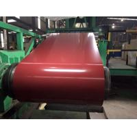 China Cold Rolled PPGI Steel Coil RAL Color Coated 0.20mm - 1.2MM Thickness Structural Grade for Sandwich panel on sale