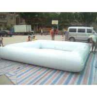 Durable White 0.9mm PVC Tarpaulin Inflatable Family Pools Water Sport Manufactures