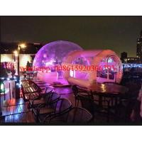 inflatable crystal bubble tent , inflatable clear dome tent, clear plastic tent with light Manufactures