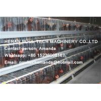 Quality Silver Hot Galvanized Steel Cage Battery Cage Layer Breeder Chicken Cage Coop for sale
