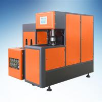 Buy cheap Semi-automatic PET blow moulding machine for 5L cooking oil bottle from wholesalers