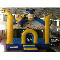 Buy cheap Adorable inflatable the minions themed bouncy house for kids digital painting from wholesalers