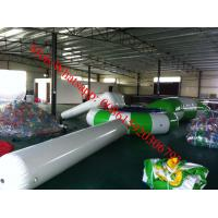 inflatable water trampoline cheap inflatable water trampoline with slide water park toys Manufactures