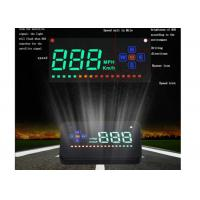Car And Trucks Universal Trip Computer A2 GPS USA Aftermarket 3.5 Inch Speed Compass HUD Manufactures