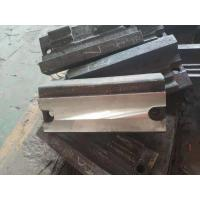 Wear Resistant Chrome Cast Iron Parts Blow Bars For Impact Crushers Manufactures