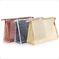 Fashion Custom Stone Pattern Pvc Cosmetic Toiletry Bag Manufactures
