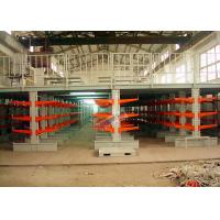 Industrial Orange Extra Heavy Duty Cantilever Racks For Plywood / Furniture Parts Manufactures