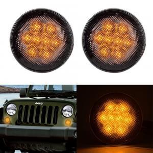 DC12V 3W Clear Lens Front Car Turn Signal Lights , IP68 Led Turn Signal Lights For Trucks Manufactures