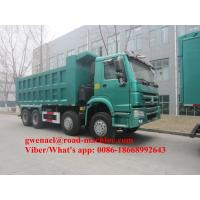 336/371HP Sinotruck Howo White/Red Obama Model  Heavy Duty Dump Truck For Ethiopia Djiouti, RHD/LHD Manufactures
