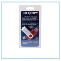 Colorful PVC USB Blister Card Packaging For Single USB Packing Manufactures