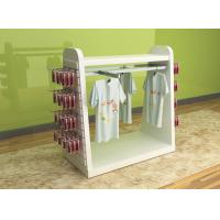 China Color Printed Children'S Clothing Display Racks / Baby Clothes Display Stand on sale