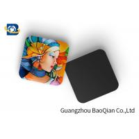 Mini 3D Personalised Tea Coasters / Cup Coasters , Custom Square Coasters Printing Placemat Manufactures