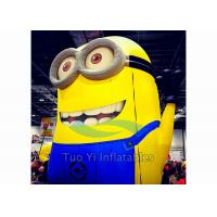 PVC Tarpaulin Inflatable Cartoon Character Giant Inflatable Minions Customized