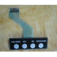 Embossed Custom Membrane Switch Keyboard with Copper Etching Circuit Manufactures