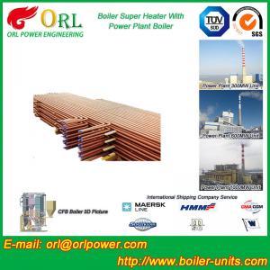 Low Pressure Boiler Super Heater Alloy Steel , Pendant Superheater Customized Manufactures