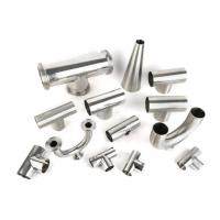 Buy cheap Mirror polished sanitary stainless steel pipe fitting Material 3A/DIN/SMS/ID SS304,SS316-Accesorios sanitarios from wholesalers