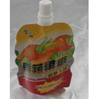 Customized Jelly Packaging Stand Up Pouch With Spout 8 oz or 250 ml Manufactures